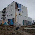 Mural na osiedlu Futura w Gdańsku
