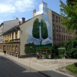 "Mural ""Zielone Płuca"" w Bielsko-Białej."